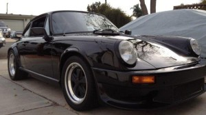 """Dan Chamber's 911SC """"The Black Pearl"""" in safer daylight hours."""
