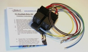 J-West relay kit and instruction booklet
