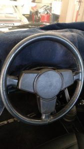 1984 and earlier 3-spoke steering wheel.